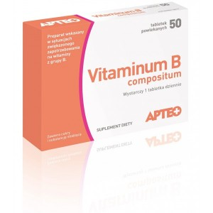 APTEO - VITAMINUM B compositum - 50 tabletek