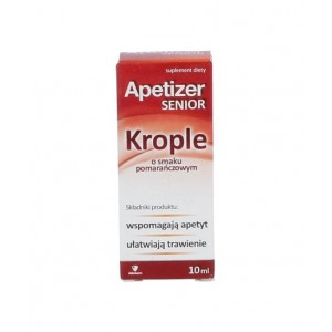 APETIZER SENIOR - Krople - 10 ml
