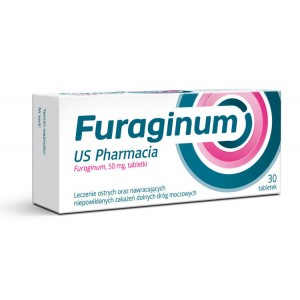 FURAGINUM US PHARMACIA - 30 tabletek