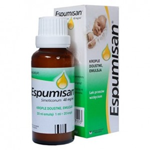 ESPUMISAN, krople doustne 40 mg emulsja - 30 ml