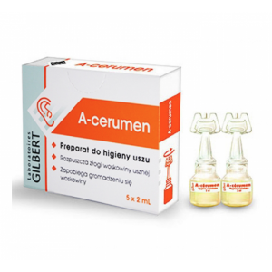 A-CERUMEN Preparat do higieny uszu, 5 x 2 ml
