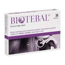 BIOTEBAL 5 mg, 30 tabletek